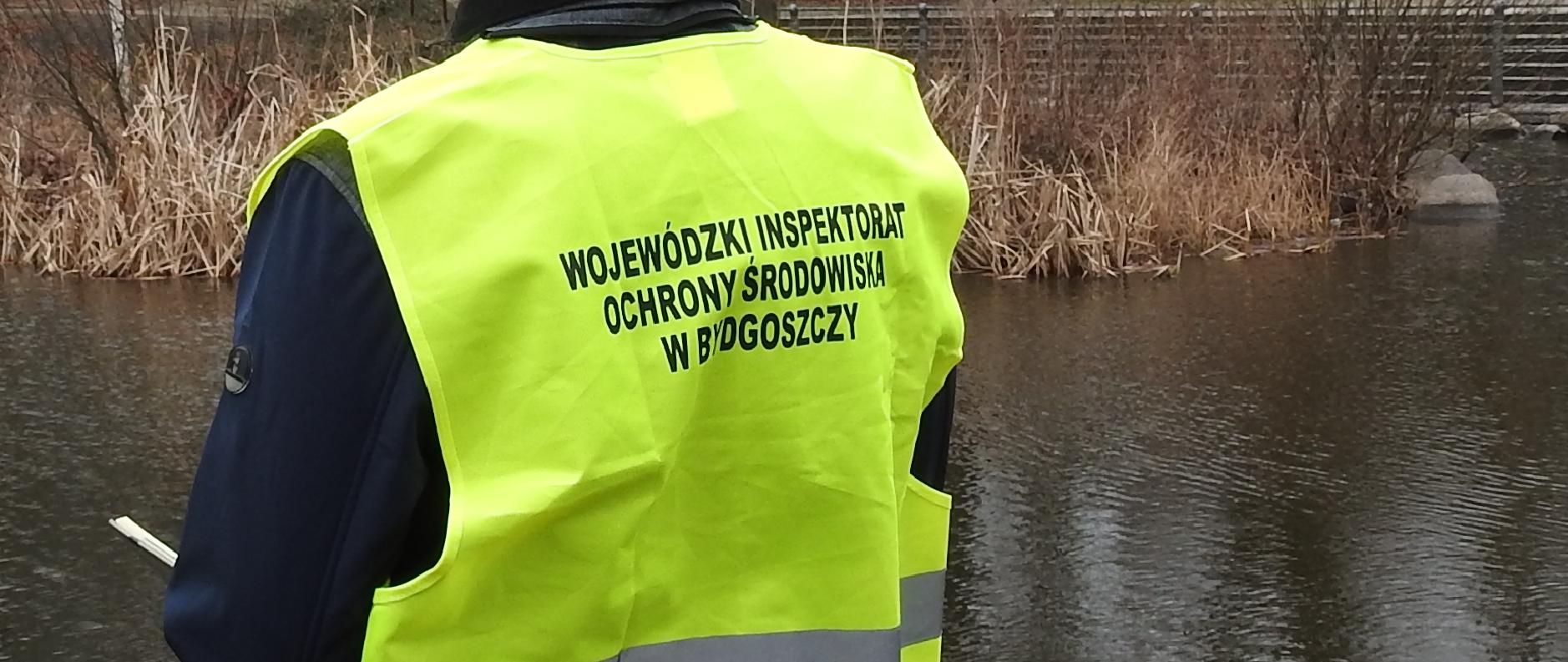 Kontrola interwencyjna oczyszczalni ścieków  eksploatowanej przez Zakład Gospodarki Komunalnej w Złotnikach Kujawskich