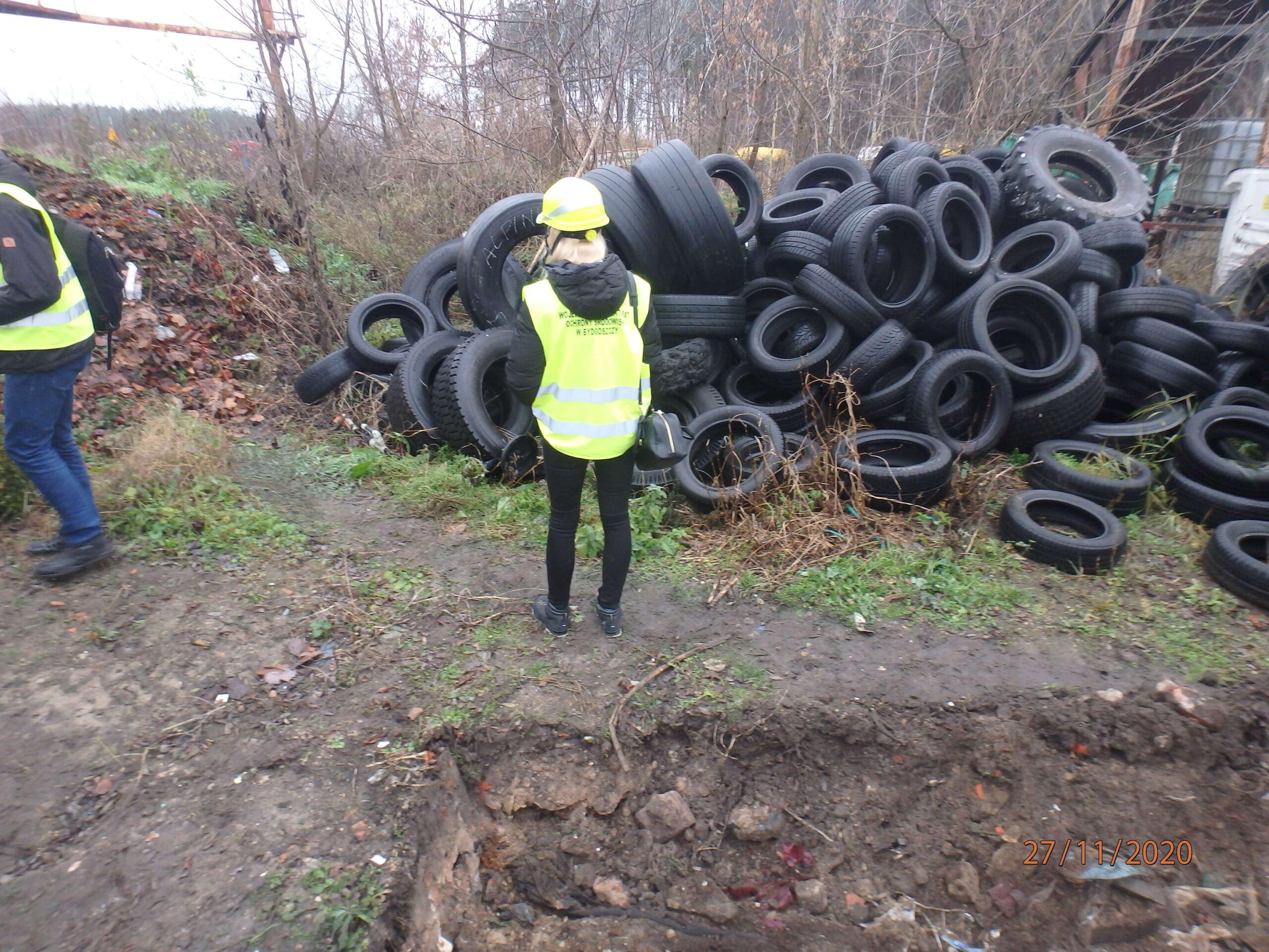 Ujawniono zakopane odpady