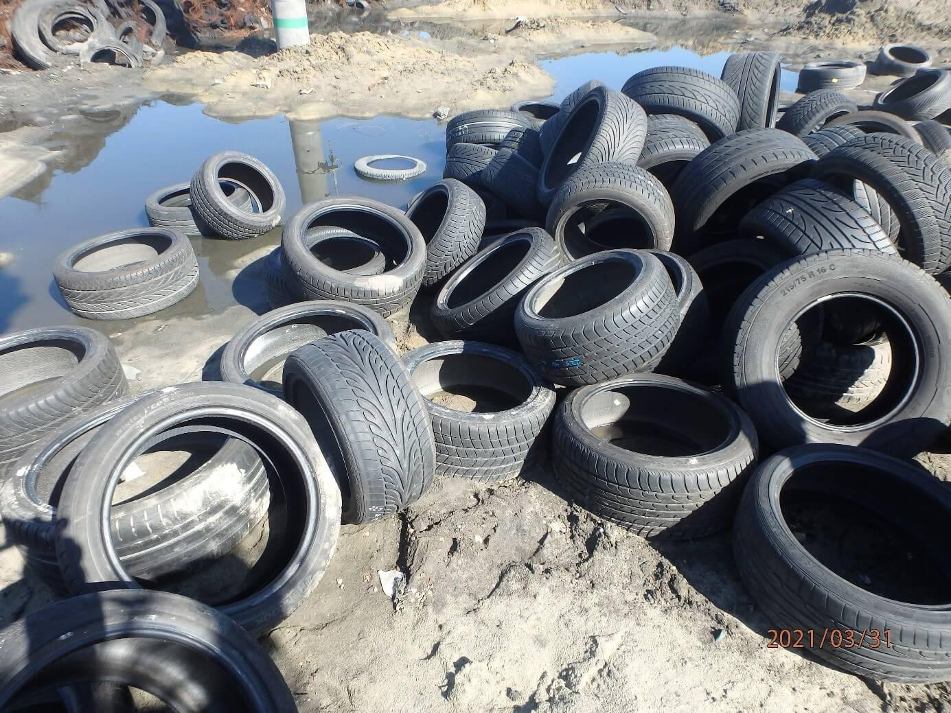 Odpady Opon w Raciniewie
